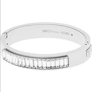 Michael Kors Silver Tone Bangle Bracelet